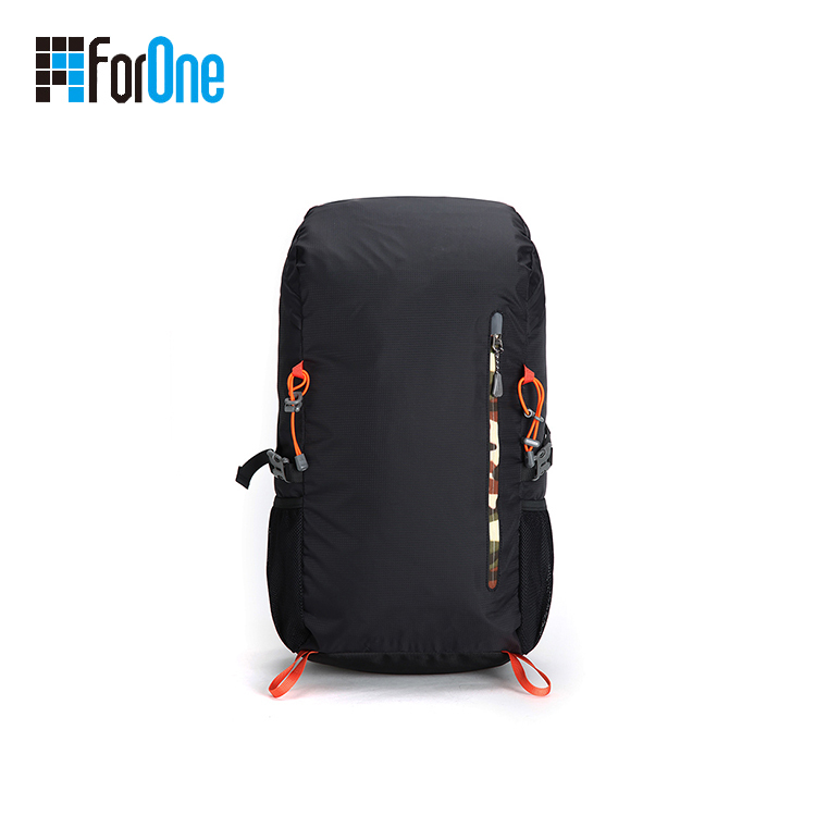 black unisex hiking bag backpack