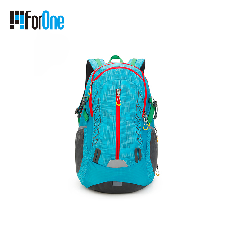 hiking bag backpack with reflective band