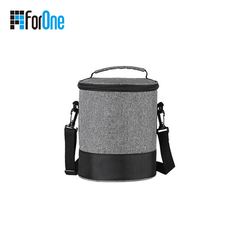 round shape cooler bag