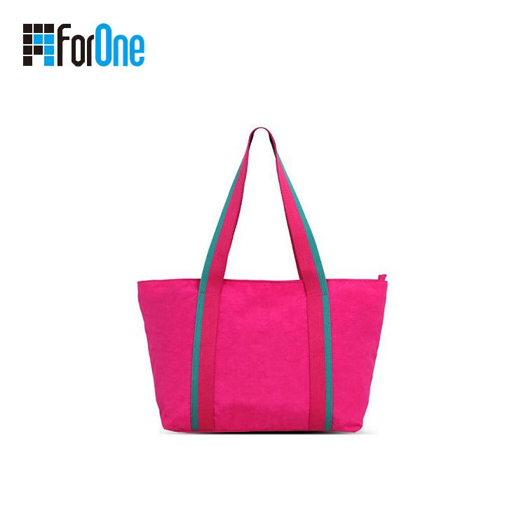 eco-friendly reusable canvas beach bag
