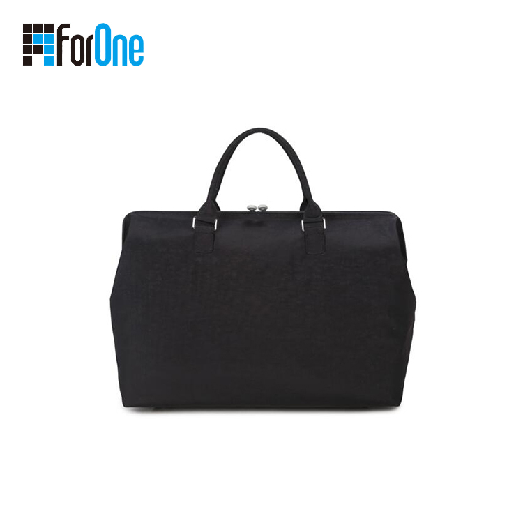 black color travel duffle bag
