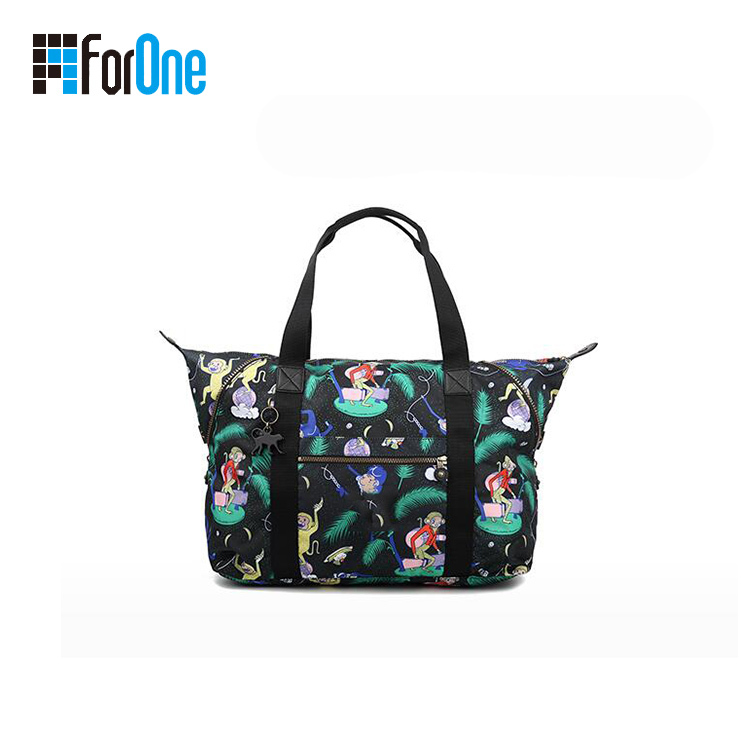 Canvas Lady Tote Bag with Printing