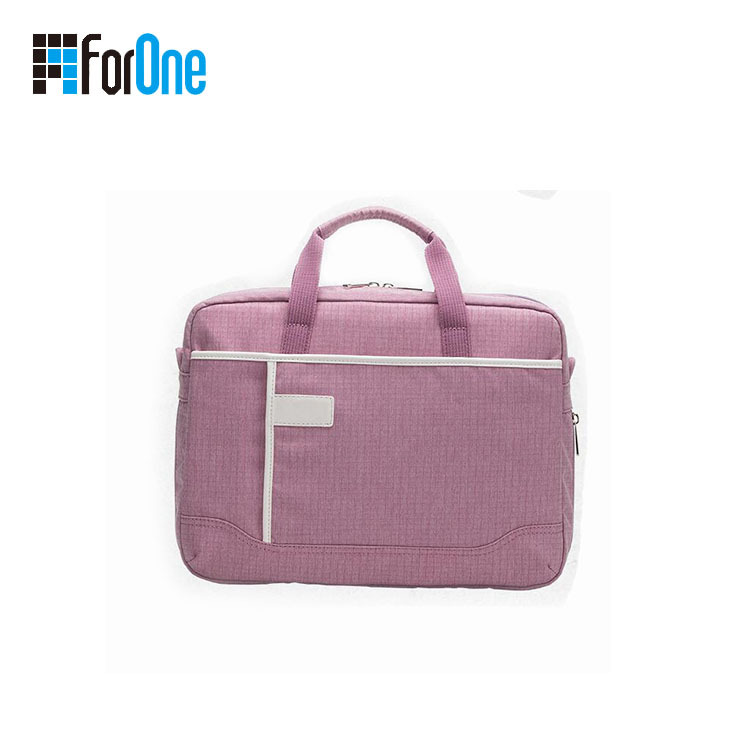 Manufacturer Promotional custom made canvas laptop bag