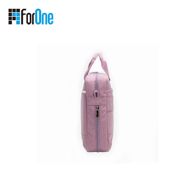 Manufacturer Promotional custom made canvas laptop bag