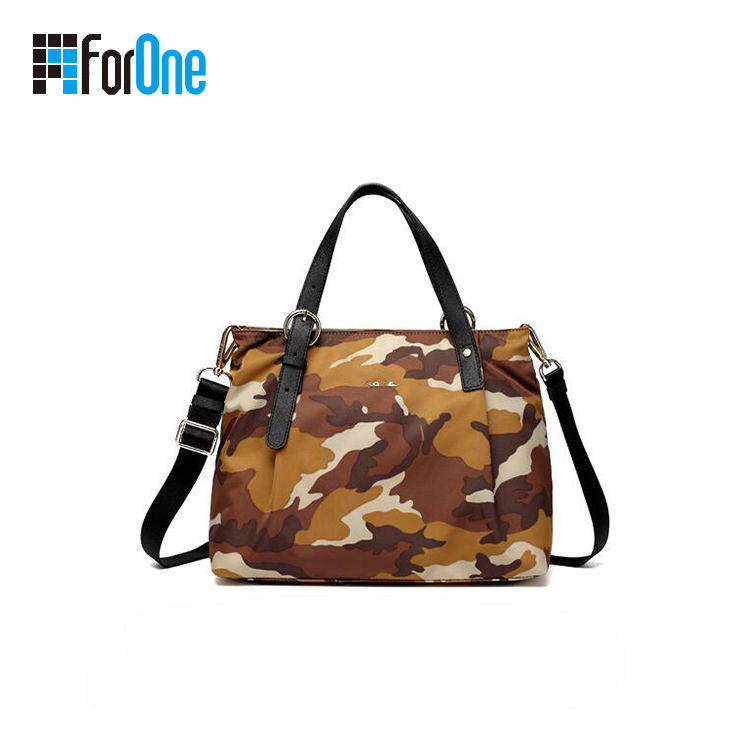 Factory Supply Camouflage Tote Bag Canvas Tote Bag