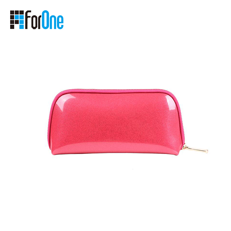 Women Girl Travel Cosmetic PU Makeup Bag Manufacturer