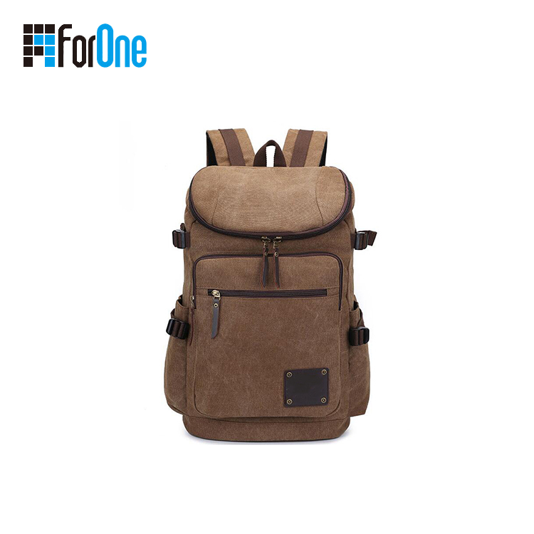 Bespoke Outdoor Large Capacity Canvas Backpacks