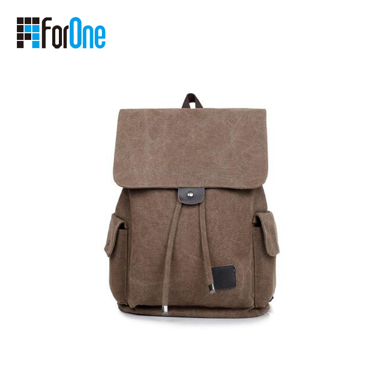 Men's Canvas Travelling Backpacks Manufacturer Supply
