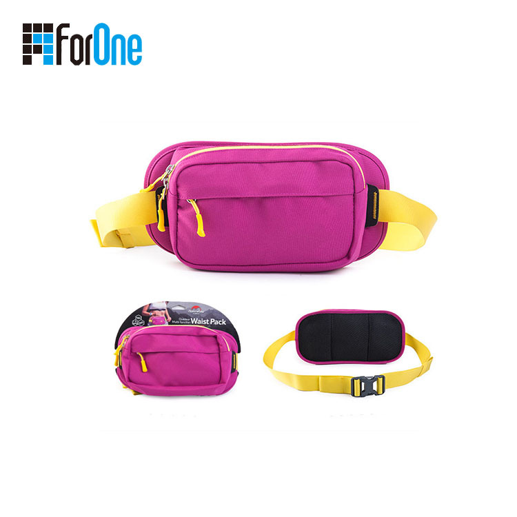 travelling simple waist bag customized