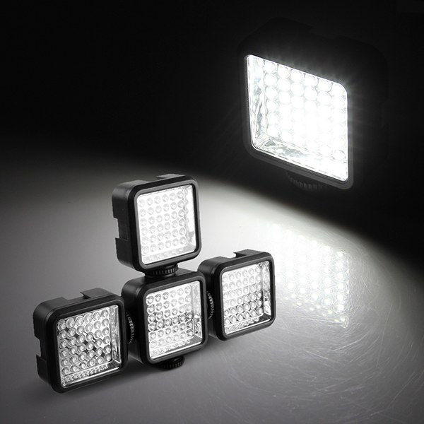 CroLED® Mini 4W 36 LED F5 Lampe Panneau Lumineux Torche Vidé