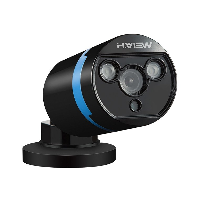 IP Security Camera POE 1080P Black, H.View 2.0 мегапикселей