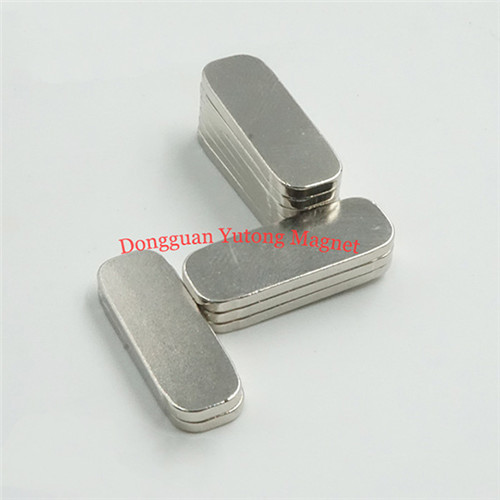 Speakers magnets N35 Oval Shape Neodymium Magnets with Nicke