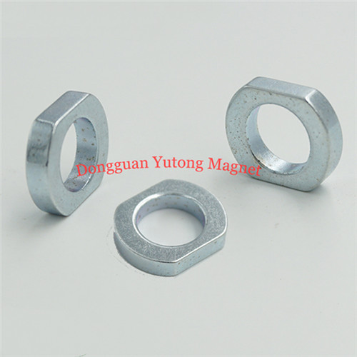 D25*d15*H20*T6mm Special Shape Strong Neodymium Zinc plated