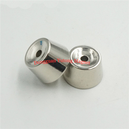 Nickel-Plating Cone Shape Electric Toys Magnets   01