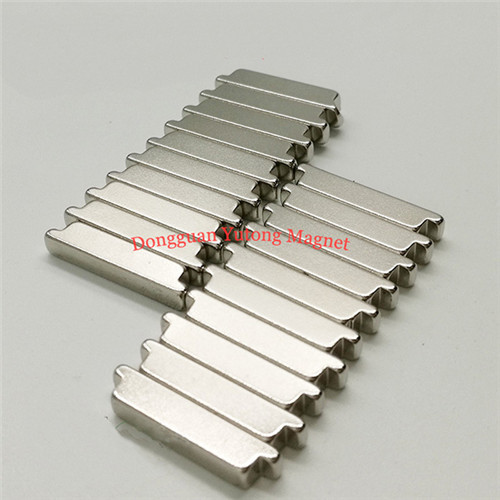 Electric Magnets 06 N38 Neodymium stepped block magnets of p