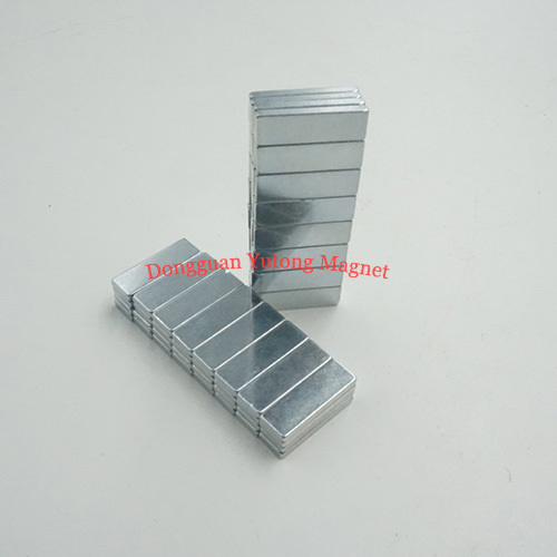 Block Bar Powerful Packaging Magnets with Zinc Plated 05