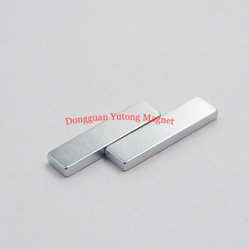 Block Bar Powerful Packaging Magnets with Zinc Plated