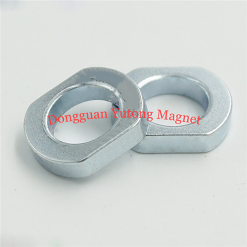 OEM Special Shape Strong Neodymium Magnets Zinc plated