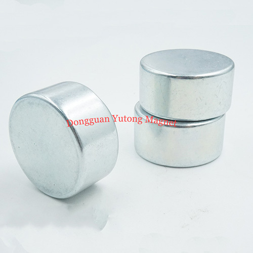 D32*T16mm Round Shape Boxes Magnets with Zinc Plating