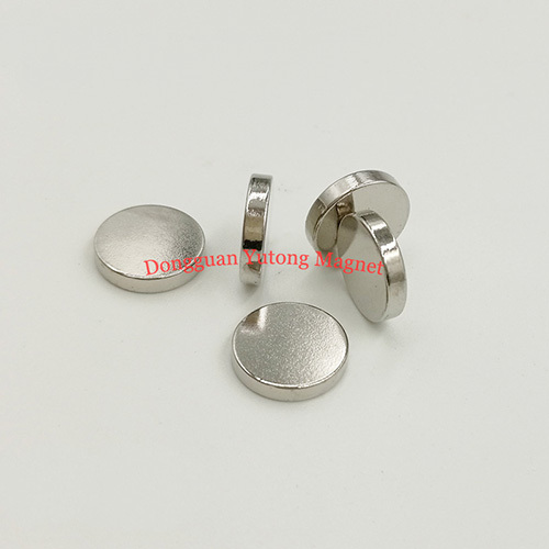 D12*T2mm Powerful Disc Magnets Nickel Plated