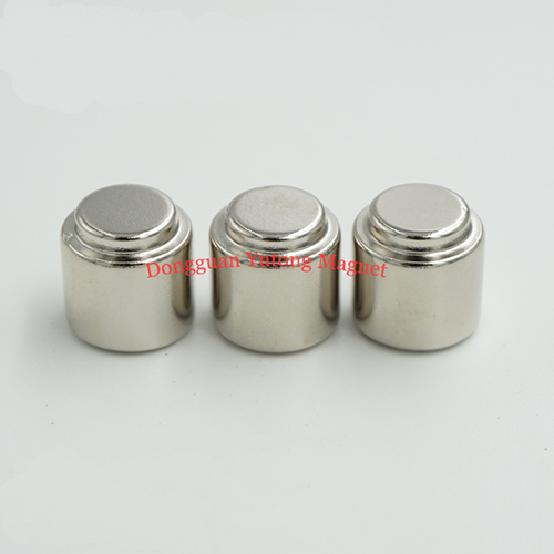 D15*18H mm + stepped out d10*3H mm Neodymium Round Stepped C