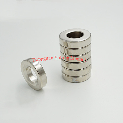 Countersunk Ring Fastener Magnets Powerful Neodymium Ring Ma