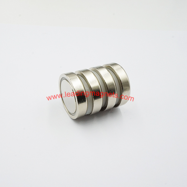 D30*6.4mm Strong Powerful Neodymium Flat Pot Magnets