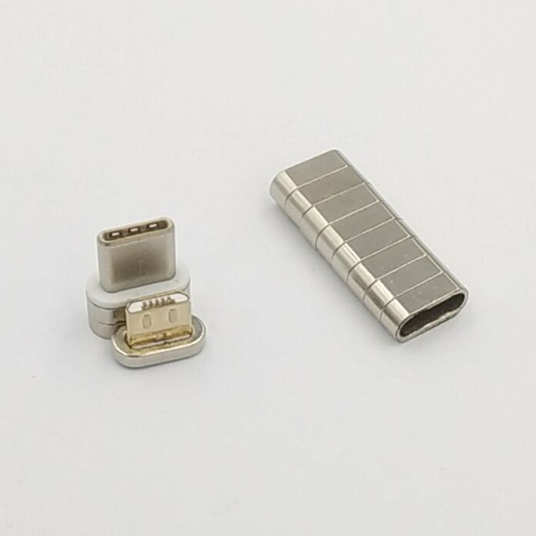 Magnets for charging cable   10.3*4.8*4.5 MM  Nickel plated