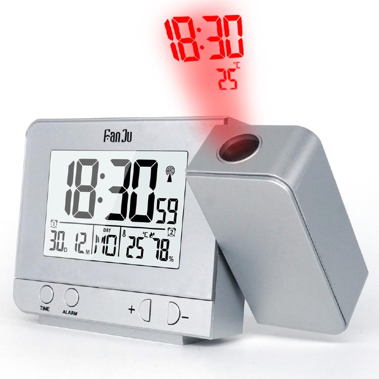 Fanju Fj3531s Projection Alarm Clock, Digital Projection Alarm Clock Manual