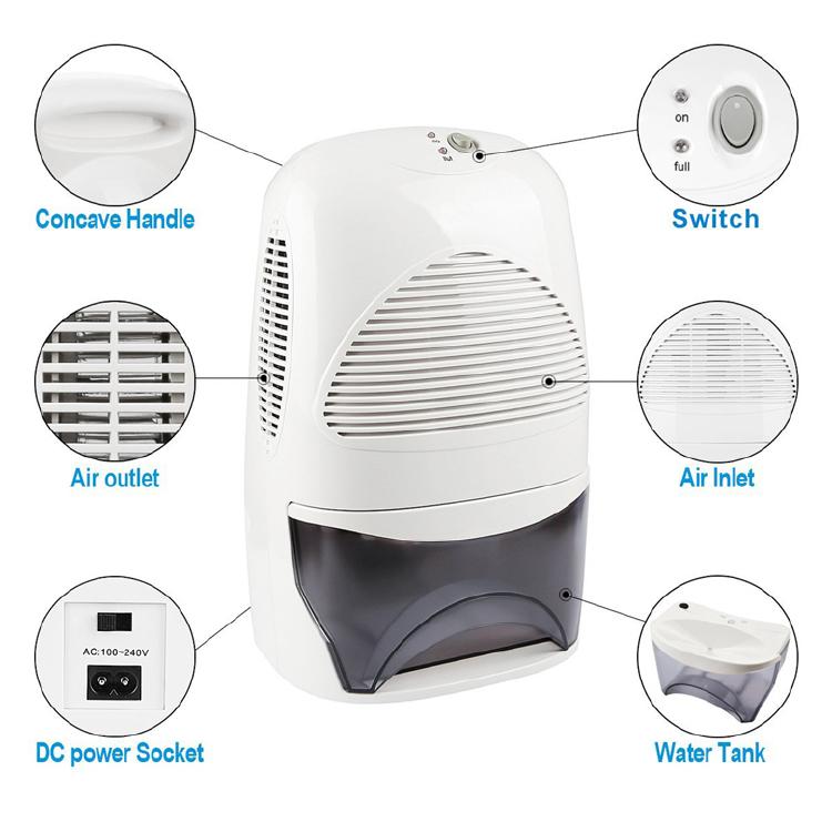 room dehumidifier bedroom dehumidifier Electric LED dehumidifier