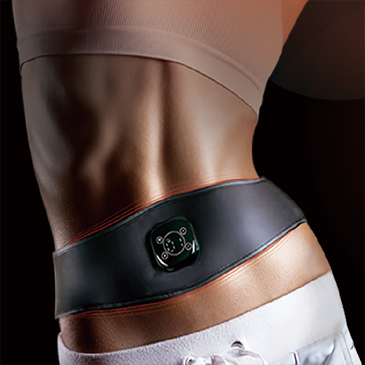 B3 Heated EMS slimming belt for abs, 42 degree Celsius consi