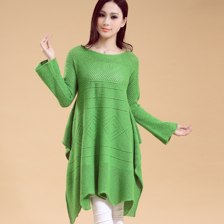 Fashional Women's knitted pullover loose sweater