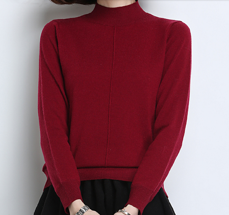 Fashion Style Womens Turtle Neck Cashmere Sweaters