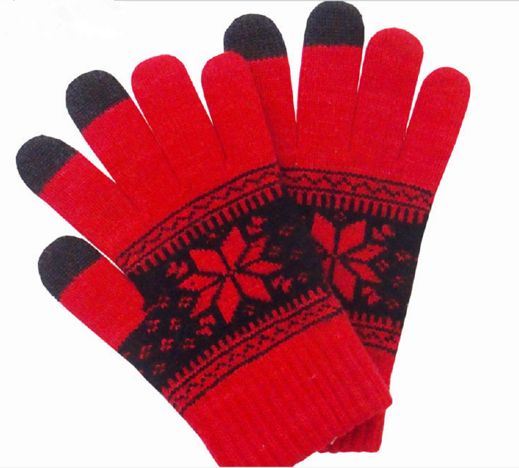 Fashion new design latest style warm knitted gloves