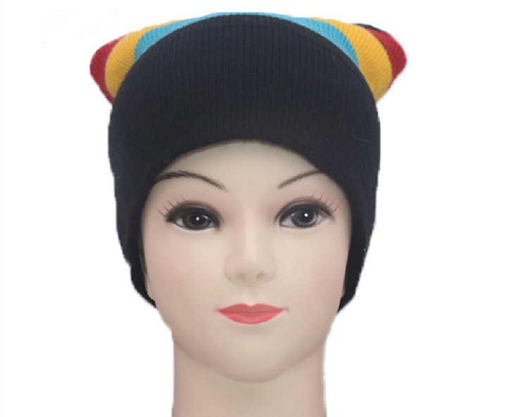 Hot Selling Fashion Beanie Cap Sport Knitted Hat