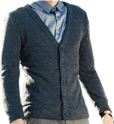Casual  Wool Mans' Knitted cardigan Sweater SD3016