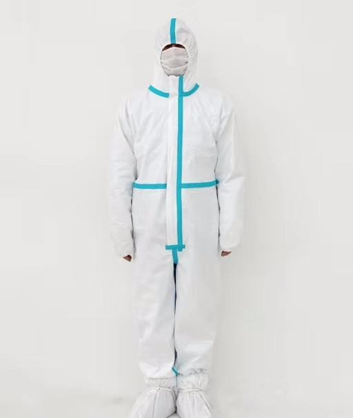 disposable medical coverall / isolation gown to anti-corona