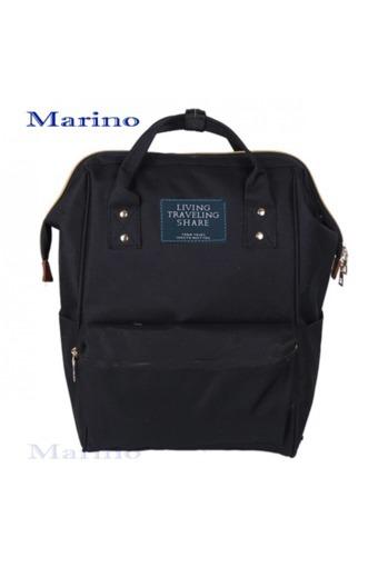Marino กระเป๋า กระเป๋าเป้ กระเป๋าสะพายหลังสีดำ Woman Backpac
