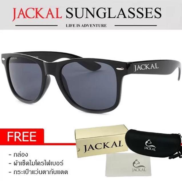 JACKAL แว่นตากันแดด SUNGLASSES รุ่น TRAVELLER JS001 (Premium