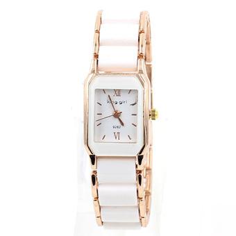 Sevenlight นาฬิกาข้อมือผู้หญิง WP8017 (White/Pink Gold) พิเศ