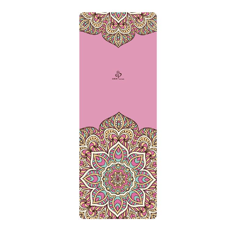 麂皮绒-天然橡胶瑜伽垫