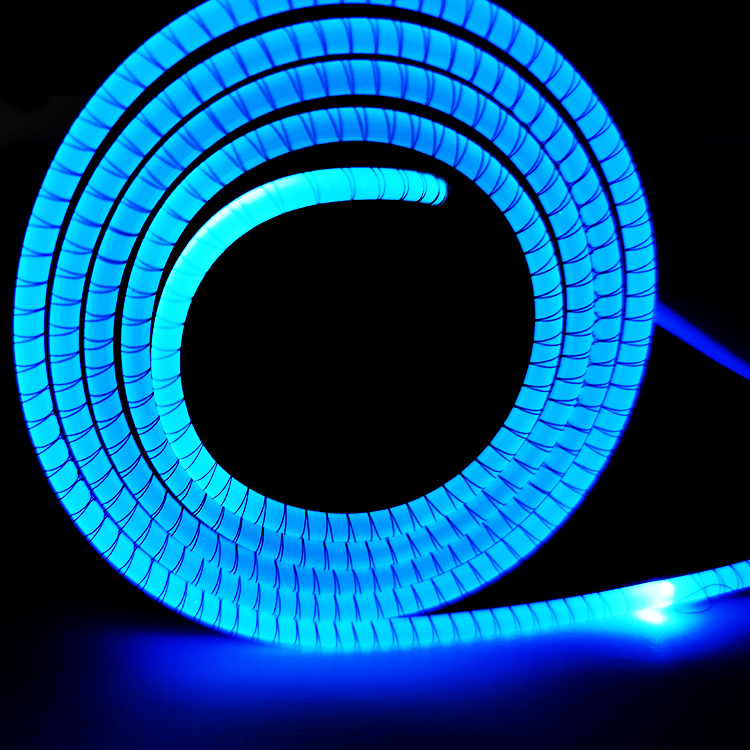 Glowing mouse pad