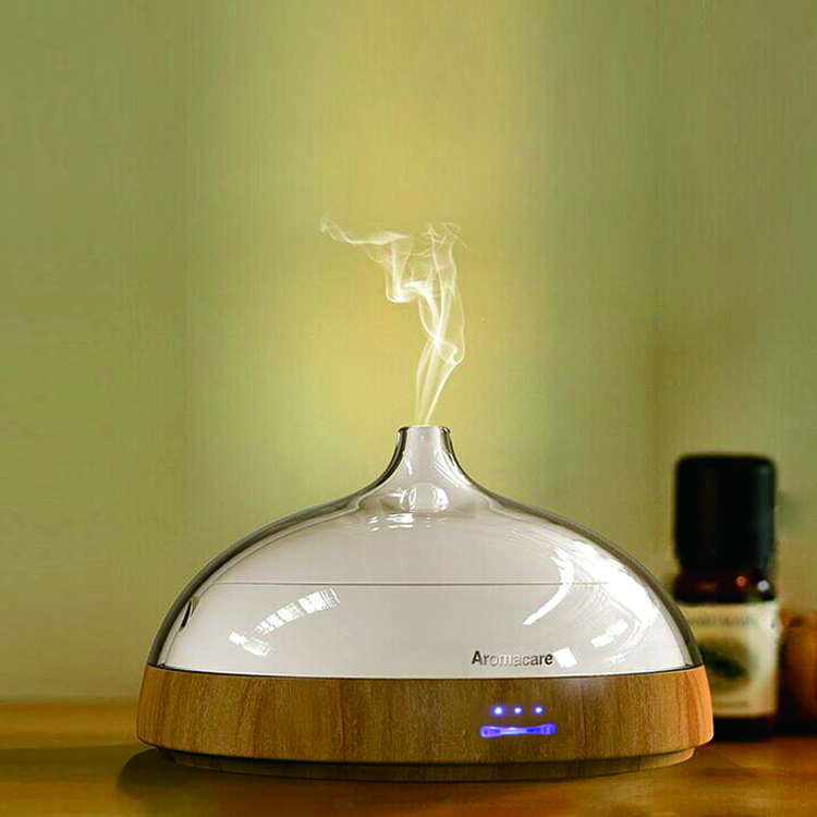 TA-030-100Ml Wood Grain Mini Essential Oil Diffuser