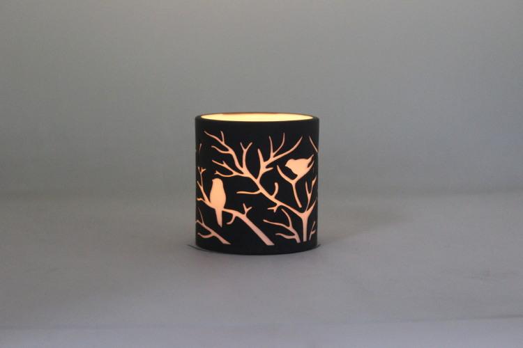 Porcelain Candle Holder PP17016B