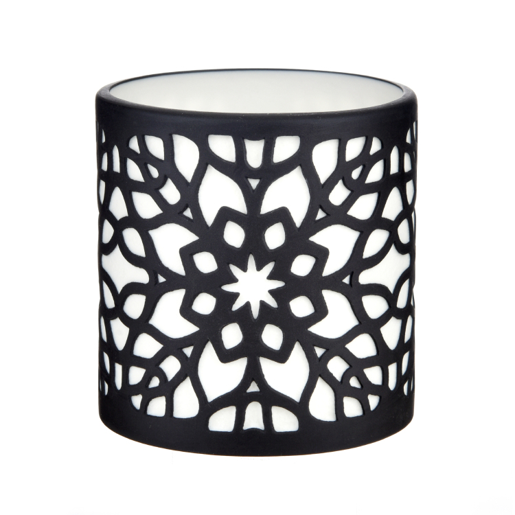 Porcelain Candle Holder PP17021B