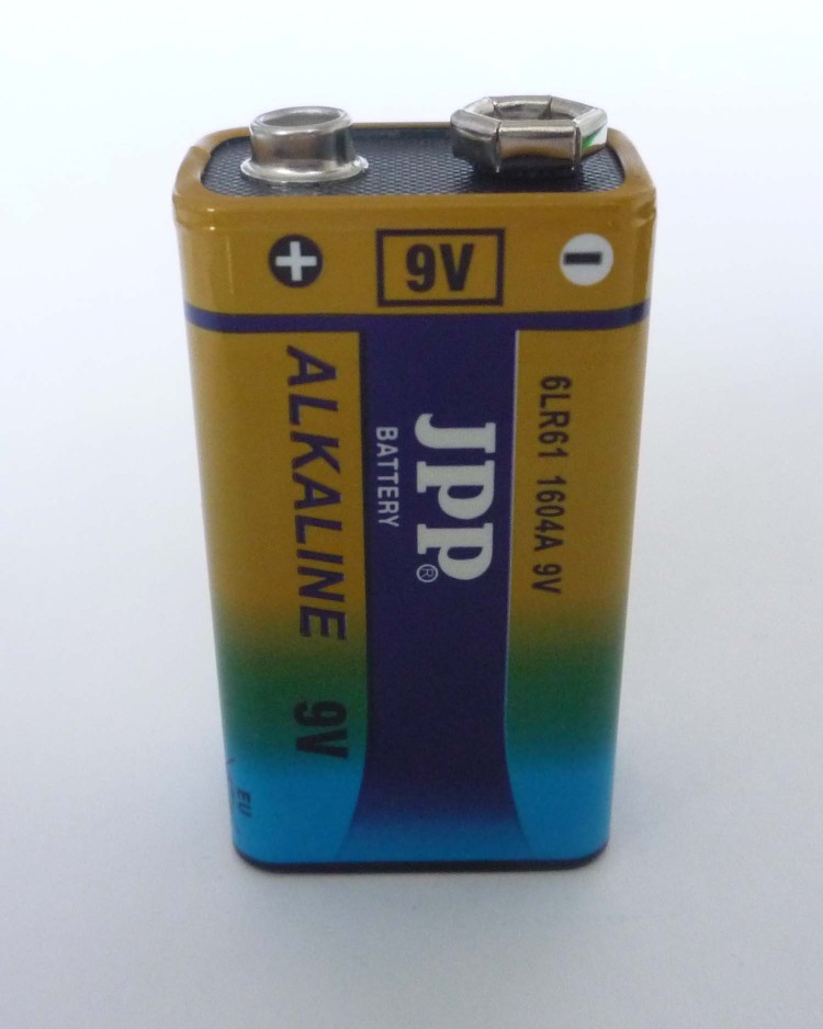 JPP Alkaline Battery 6LR61 9V