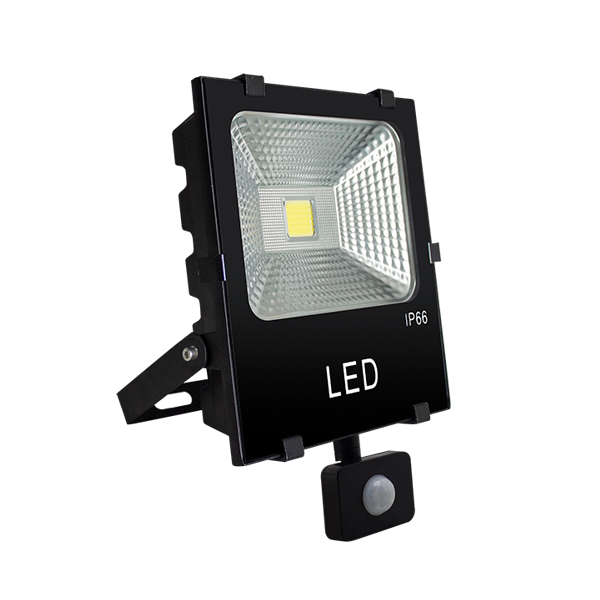 With Motion sensor COB LED FLOOD LIGHT 10W/30W/50W