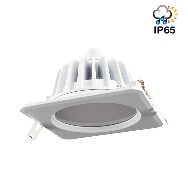 IP65 LED down light Square recessed