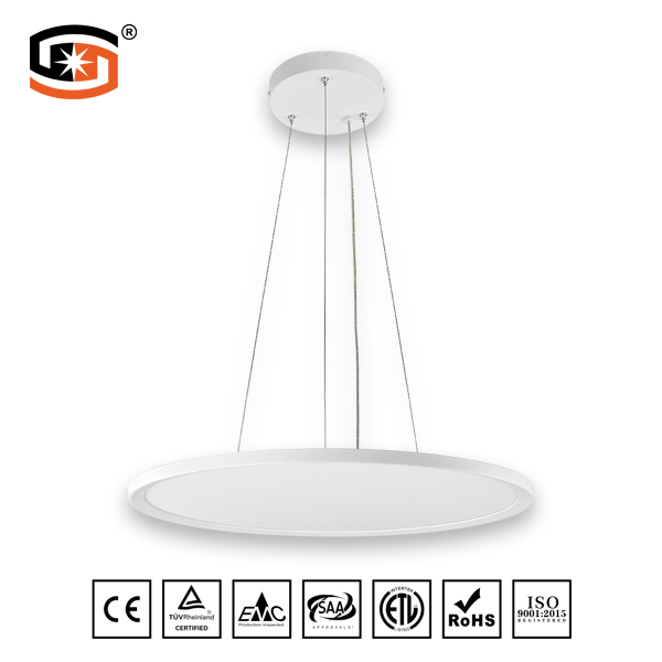 45W Round suspended mounted panel light