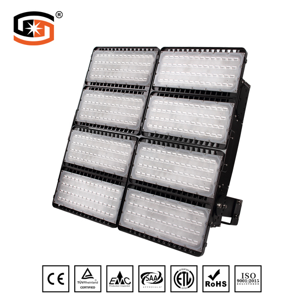 LED FLOOD LIGHT Football Stadium Series Surface Mount  1600W